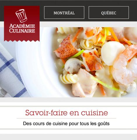 Etablissement for Academie de cuisine