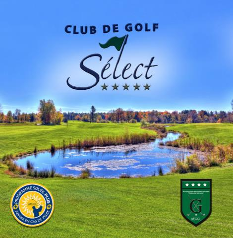GOLF le SÉLECT