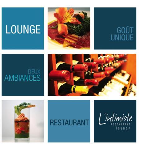 L'Intimiste restaurant et lounge