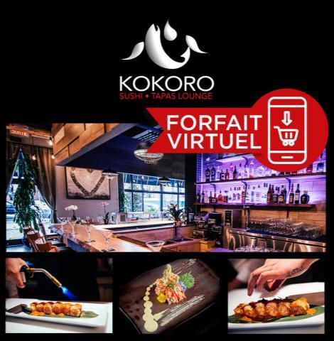 Kokoro Sushi - À livrer ou emporter