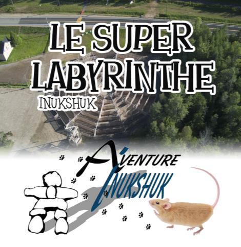 Le Labyrinthe Aventure Inukshuk