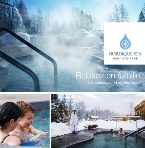 Le Nordique Spa Mont Sainte-Anne