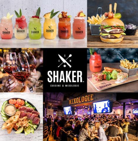 Shaker, Cuisine & Mixologie @
