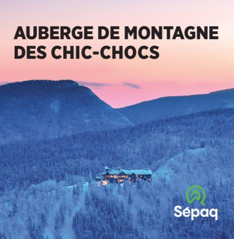 Auberge de montagnes des Chics-Chocs (SÉPAQ)