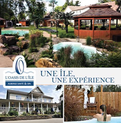 Oasis de l'Île, Auberge Santé & Spa