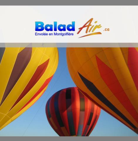 Balad'Air Envolée en Montgolfières