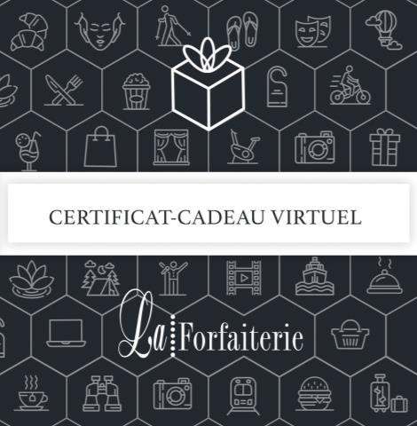 La Forfaiterie (Certificats-cadeaux virtuels)