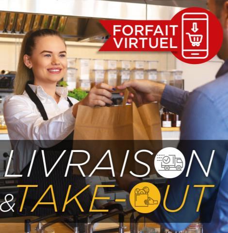 Repas gastronomiques pour emporter ou livrer (FSR)